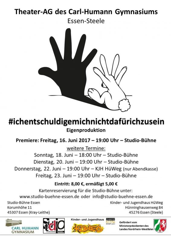 Theater-Flyer