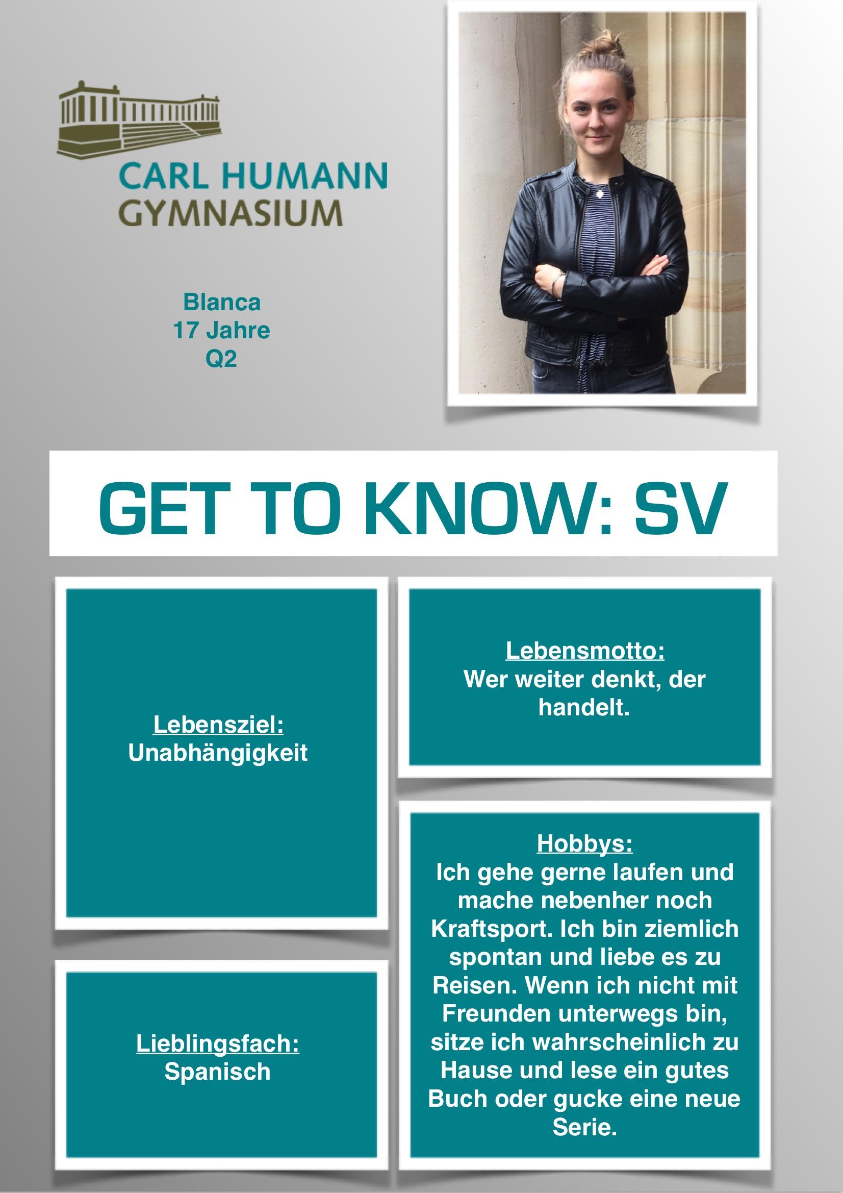 Schüler   Carl-Humann-Gymnasium