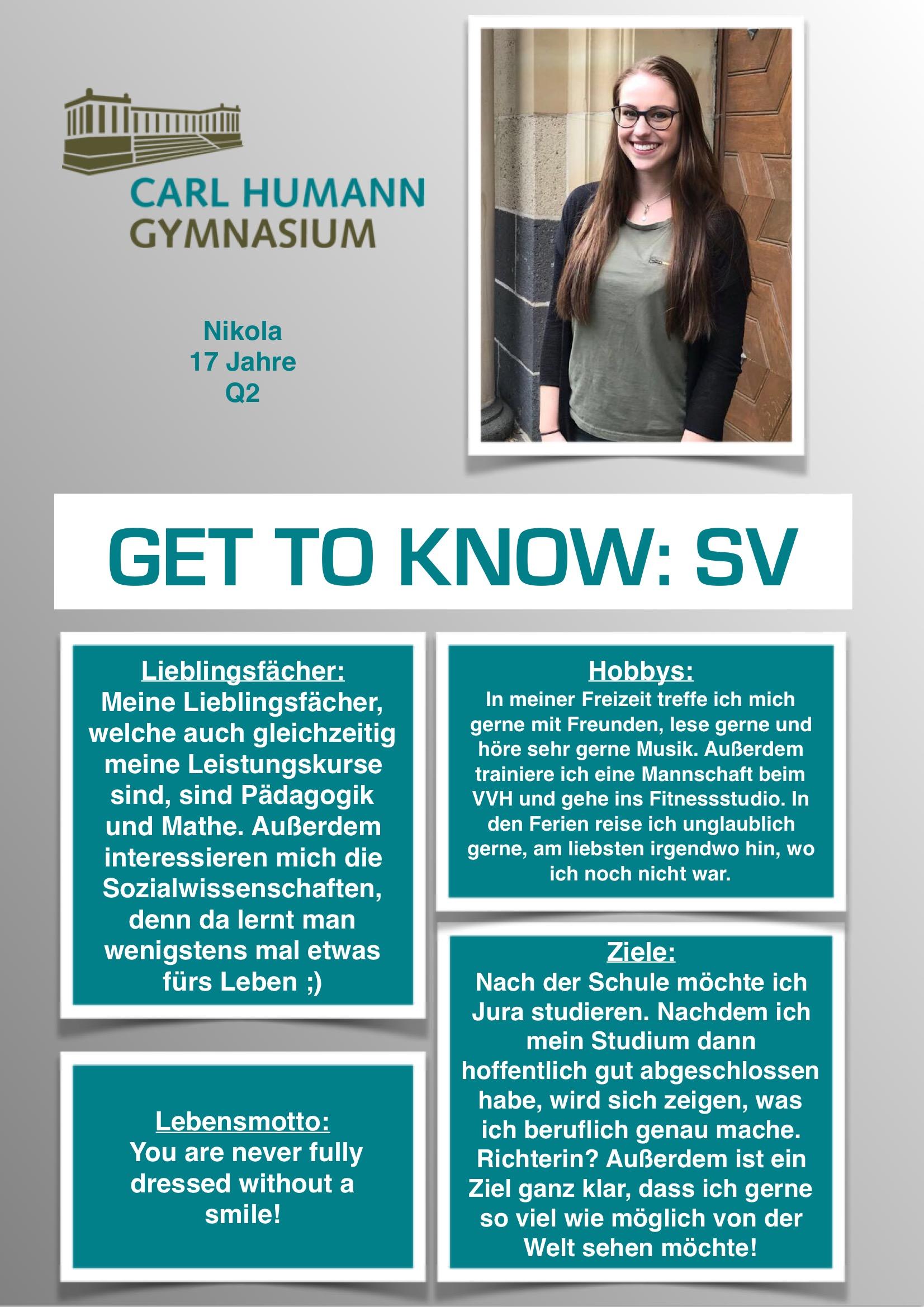 Schüler | Carl-Humann-Gymnasium